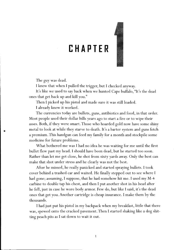 First Page of the 14th Reinstated - Best Survival Book