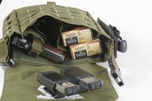 I Have Another Small Bag That Fits In My Backpack It Contains A Smith Wesson 1911 45 Acp Pistol Four Magazines And 100 Rounds Of Ammo