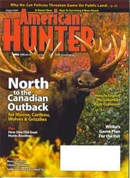 American Hunter Cover Including Bryce Towsley Article