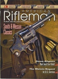 American Rifleman Cover Bryce Towsley